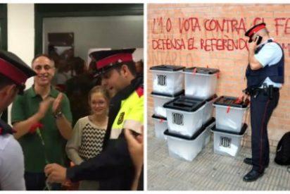 """El cáncer llega a metástasis en los Mossos: Los mandos acorralan a los agentes españoles al grito de """"hijos de puta"""""""