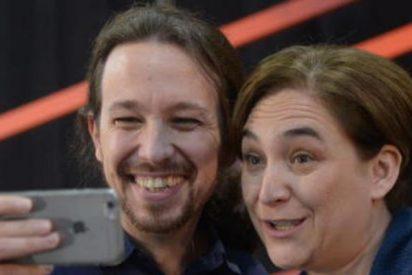 Pablo Iglesias, el 'rehén' de Ada Colau