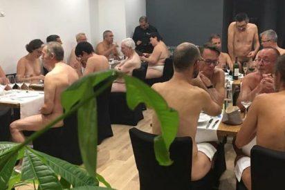 ¿Te atreves a exhibirte desnudo, tienes pasta y quieres cenar?... pues vente a 'O'Naturel'
