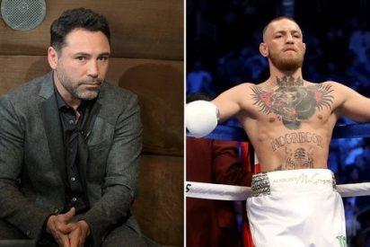 Óscar de la Hoya anunció su regreso al boxeo y retó a Conor McGregor a sus 44 años