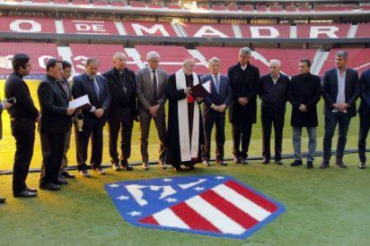 Osoro bendice el nuevo estadio del Atlético de Madrid