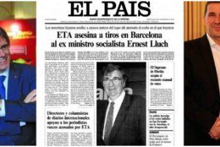 El aniversario del asesinato de Ernest Lluch en Barcelona pone de relieve la mezquindad del independentismo con los cómplices de aquella barbarie