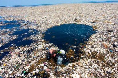 'Ropas, plásticos, animales y cuerpos humanos': el mar de basura que enfrenta a Honduras y Guatemala