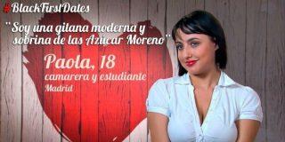"La gitana 'pechugona' de 'First Dates': ""¡Quiero que me empotren!"""