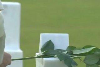 """El Papa, en el cementerio militar de Nettuno: """"Nunca más la tragedia inútil de la guerra"""""""