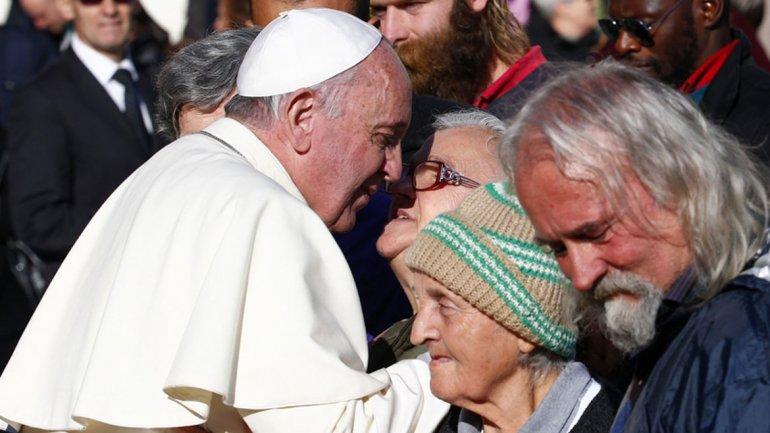 """Patricia, persona sin techo: """"Francisco es un faro de esperanza"""""""