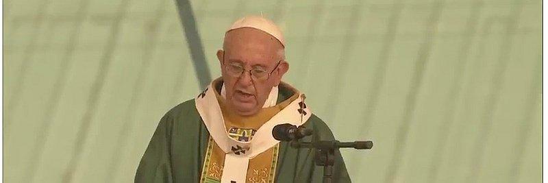 """Francisco: """"El camino de la venganza no es el camino de Jesús"""""""