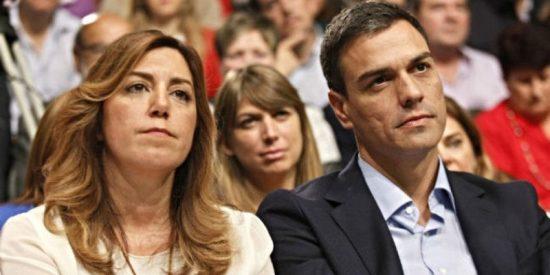 Pedro Sánchez y Susana Díaz se declaran incompatibles