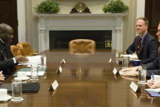 """Pence y Parolin reafirman """"la fuerte y duradera cooperación entre Estados Unidos y la Santa Sede"""""""