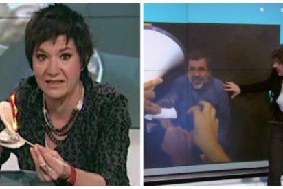 La pirómana de TV3 ataca de nuevo mintiendo como una bellaca para defender a los golpistas encarcelados