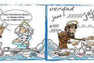 """El Papa clama """"manos abiertas hacia el pobre, la carne herida del Señor"""""""