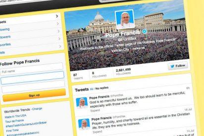 El Papa, más influyente que Trump en Twitter