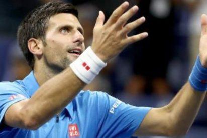 """Novak Djokovic contra Roger Federer: """"El saque más largo del mundo"""""""