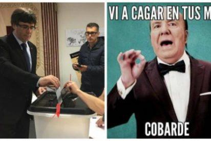 El cobardón y pecador 'Puigdemoor de la Pradera' se arruga y dice que hay alternativas a la independencia