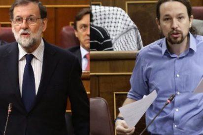 Iglesias no aprende: vuelve a dejarse llevar por su vanidad y Rajoy lo aprovecha y le pega un tremendo revolcón