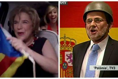 Hola Soraya: esto es lo que pasa por no haber intervenido TV3 y haberla dejado en manos de los golpistas