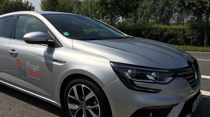 Renault prepara las infraestructuras para SCOOP, el vehículo conectado