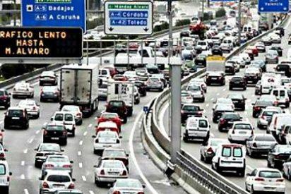 Carmena y Podemos limitan hoy la velocidad en Madrid a 70 km/h en la M-30 'por contaminación'