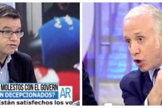 """Inda se merienda a Manuel Rico por defender sin pudor que Venezuela jamás fue el modelo de Podemos: """"¿Te muestro los vídeos de YouTube?"""""""
