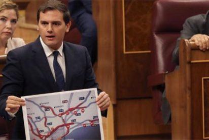"""Rivera echa en cara a Rajoy que permita el """"chantaje"""" de los huelguistas 'catabasunos'"""