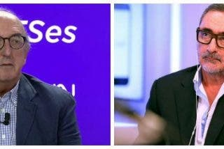 """Carlos Herrera apaliza al """"pájaro de cuenta"""" de Roures por hacer de celestino de la alianza entre Podemos y separatistas"""