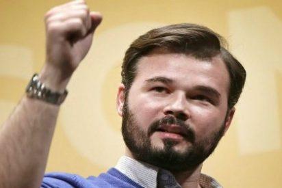 La foto con que Rufián ha definido a Ciudadanos y que le retrata otra vez