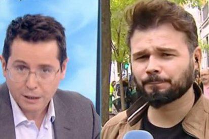 """Sergio Martín agarra por la solapa al 'granuja' faltón de ERC: """"Nos trata como imbéciles"""""""