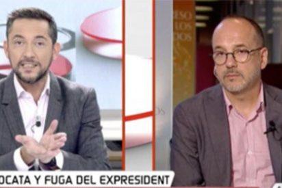 Javier Ruiz deja KO a Campuzano con las lastimosas malas artes de su compañero y reo Jordi Sánchez en Soto del Real