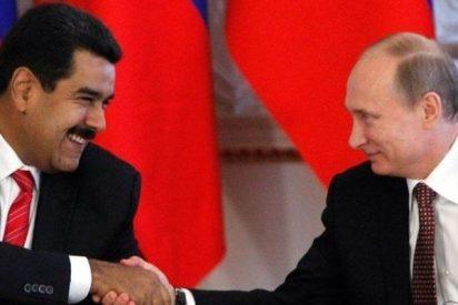 El feroz Vladimir Putin rescata al inepto y represor Nicolás Maduro