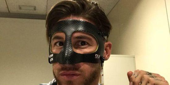 Cachondeo en las redes con la máscara de Sergio Ramos