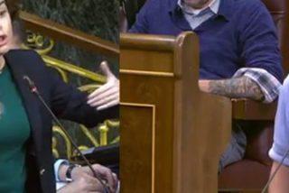 Soraya Sáenz de Santamaría se enfrenta a Domènech en el Congreso y deja al podemita hecho un 'ecce homo'