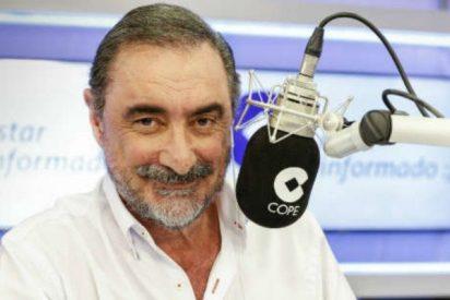 "Carlos Herrera: ""No es Junts per Catalunya, es Juntos para la cárcel"""