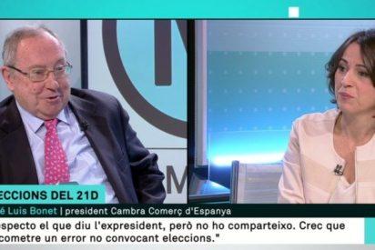 El presidente de Freixenet incendia TV3 dando leña a Puigdemont y alabando el 155