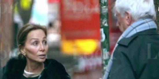 Tremenda bronca en plena calle de Nueva York entre Isabel Preysler y Mario Vargas Llosa
