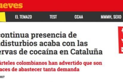 Un juzgado de Barcelona investiga a los graciosos de 'El Jueves' por calificar de drogadicta a la Policía Nacional