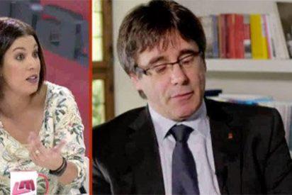 La deplorable Talegón alucina como Puigdemont y también quiere salirse de la Unión Europea