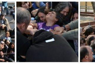 """El manicomio catalán no descansa: los talleres de resistencia pacífica donde recomiendan """"hacerse el muerto para evitar el desalojo"""""""