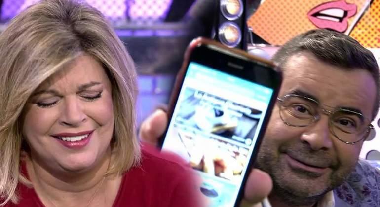 'Sálvame': Terelu Campos pillada buscando churrerías en directo
