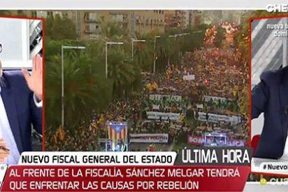 """Jaime González le para los pies al protoseparatista Santi Terrazas: """"Tienes problemas para entender qué es democracia"""""""