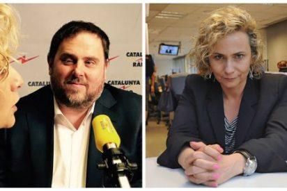 """Mónica Terribas justifica su sueldazo tildando de """"presos políticos"""" a los golpistas en Catalunya Radio"""