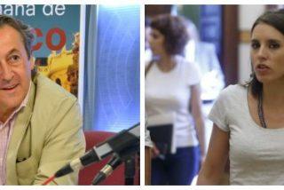 """Tertsch le da un soberano sopapo a la """"trilera"""" Irene Montero por su burda mentira sobre el voto femenino"""