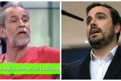 "La izquierda, a leche limpia por Cataluña: Willy Toledo manda ""a la mierda"" a Alberto Garzón"