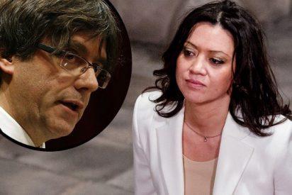 Las fotos de la mujer de Puigdemont tras su fuga que esconden un feo detalle