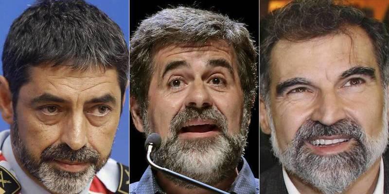 Así era 'el reparto de tareas' en el procés independentista catalán entre ANC, Omnium y los Mossos