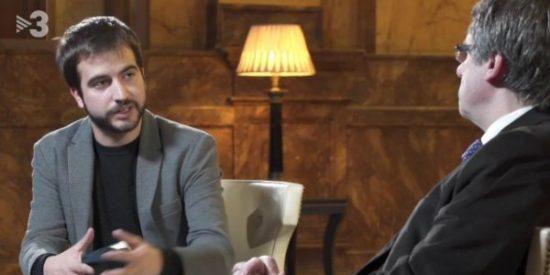 La sectaria TV3 no acata el 155 y se sigue refiriendo a Puigdemont como 'president'