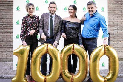 Espectacular programa 1.000 de 'Zapeando' dedica un musical a los espectadores