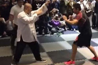 El intocable maestro de Tai Chi se enfrenta a un luchador de MMA y pierde por nocaut en 10 segundos
