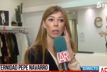 Eva Zaldívar no dice ni mus del divorcio de su ex Pepe Navarro