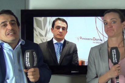 Silvia Charro y Simón Pérez en Periodista Digital.