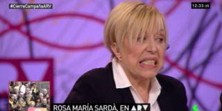 La dentellada de Rosa María Sardá a Puigdemont que deja marcado a Ferreras